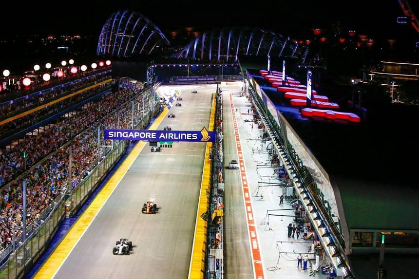 Singapore Airlines first came on board as title sponsor of the F1 night race in 2014 for an initial two years, before extending it for a further two.