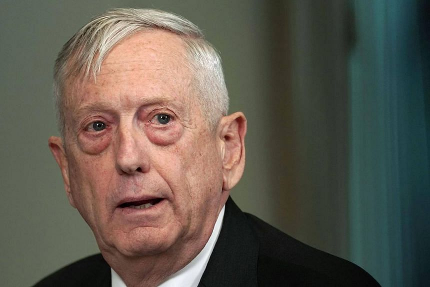 The New York Times said US Defence Secretary James Mattis (pictured) recommended President Trump get approval from lawmakers before launching cruise missiles into Syria.
