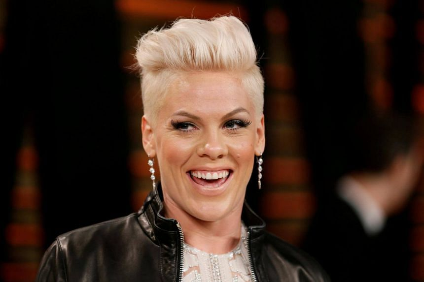 Pink, known for her acrobatic live performances, has scored hits like What About Us and Raise Your Glass over a 20-year career.