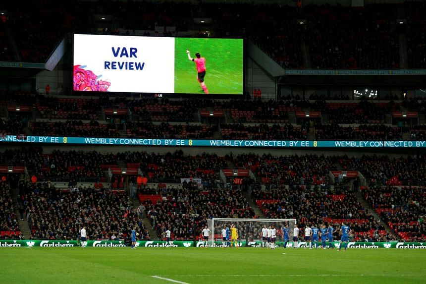 The International Football Association Board approved the use of the VAR system in March and Fifa confirmed that it would be used at the World Cup.