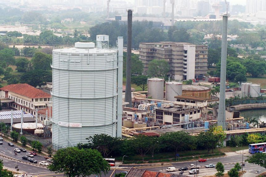 The Singapore Land Authority has called for a tender to conduct remediation works on the former site of Kallang Gasworks (above).