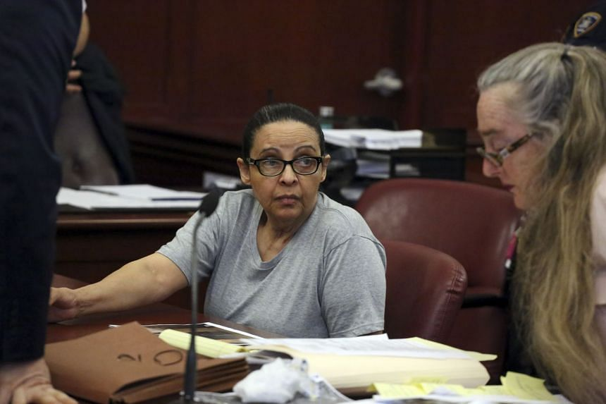 Yoselyn Ortega during the second day of her murder trial in New York, March 2, 2018.