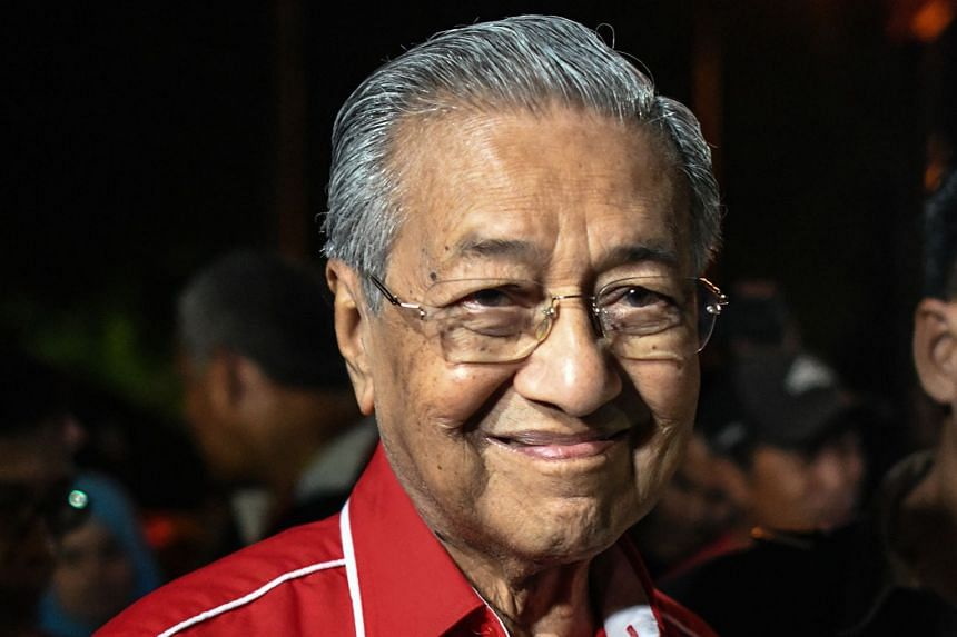 Mr Hadi (above) had suggested Dr Mahathir become a doctor at a clinic instead of contesting in the polls. Dr Mahathir (above) said Mr Hadi has zero political knowledge and is unfit to lead a government, said a report.