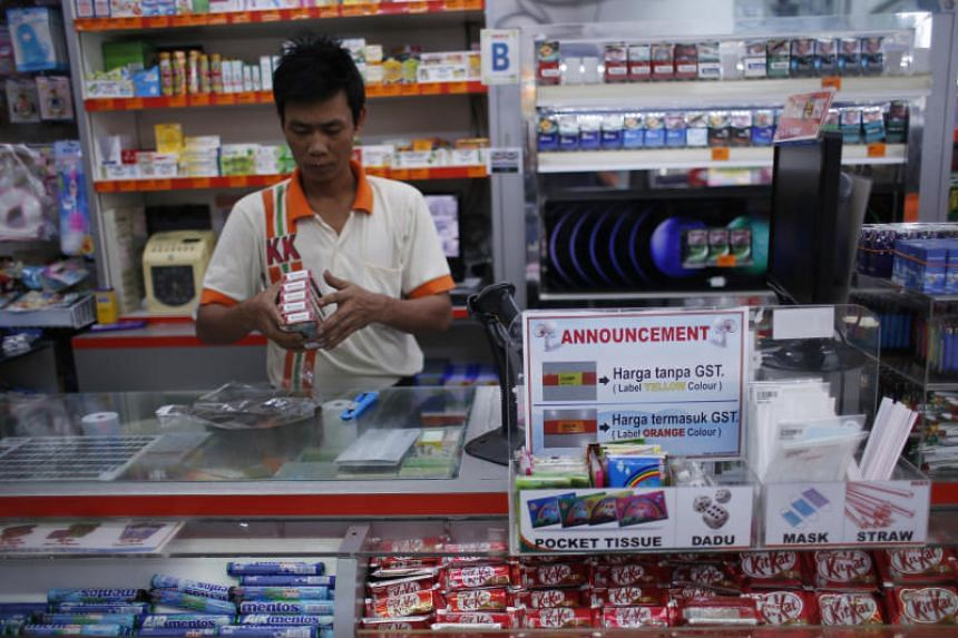 Malaysia introduced the goods and services tax in 2015.