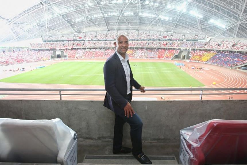 Australian rugby legend George Gregan at the National Stadium on April 12, 2018.