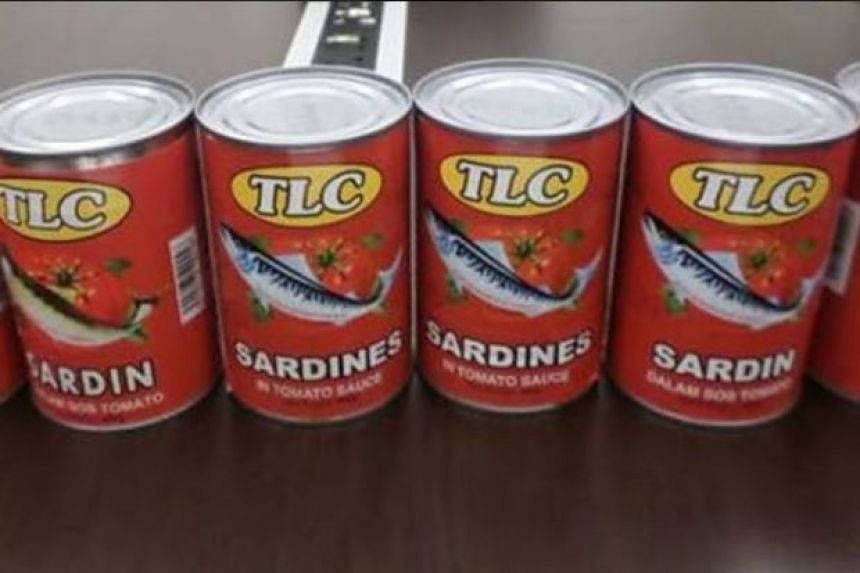 Malaysia's health ministry conducted checks on the TL Tan Lung and TLC brand canned sardines and found that they did not comply with the Food Act 1983.