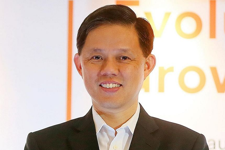 Labour chief Chan Chun Sing declined to be drawn into commenting on whether he is moving to a new role in the upcoming Cabinet reshuffle.