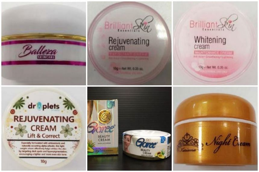 The Health Sciences Authority said that some of these products had mercury levels exceeding the permissible limit by more than 27,000 times. Other potent ingredients found include hydroquinone and tretinoin, which could lead to serious adverse reacti