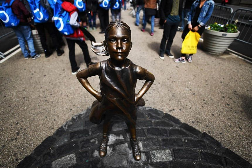The statue known as Fearless Girl will soon be moved from its spot at the southern tip of Broadway to a spot facing the New York Stock Exchange.