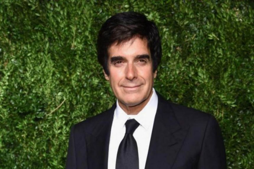 An audience member has filed a negligence lawsuit against David Copperfield, saying that he was injured after taking part in a trick.