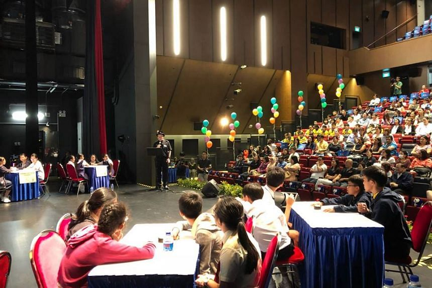 Organised by National Library Board (NLB) and supported by POSB, the Kids' Literature Quiz saw a record 126 teams from 71 schools who signed up this year to test their students' knowledge of literature.