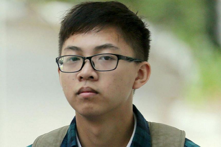 Chinese national Zhou Zice, 17, testified in court on April 19, 2018, that Zeus Education Centre in Tampines Street 34 had provided the phone.