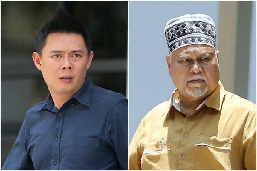Frankie Chan Li Fah and Mohamed Ibrahim Mohd Ya'acob corruptly obtained $3,869 and $1,507, respectively, from the transport company.
