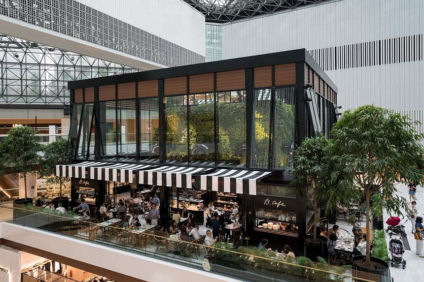 Raffles City Singapore completed enhancement works for the interior of its mall during the quarter. The revamped Level 3 Atrium reopened with a new garden-themed cafe.