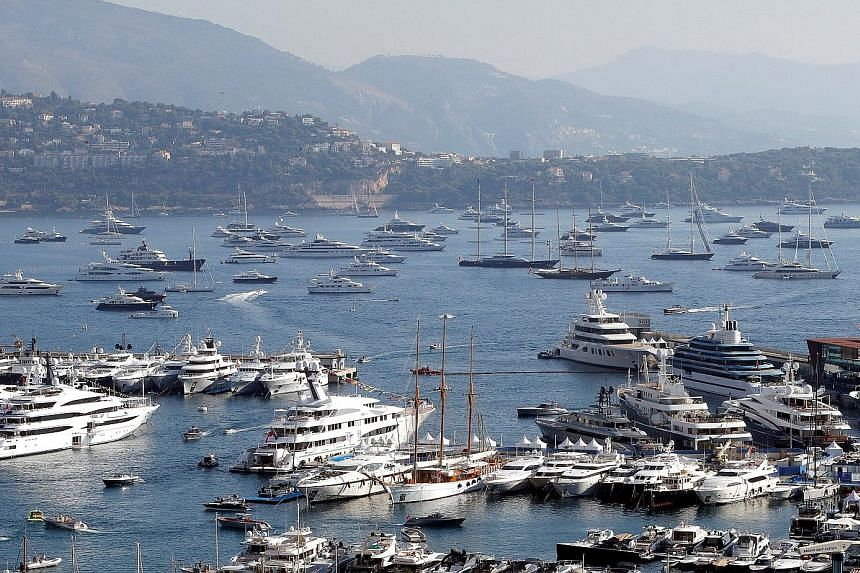 Luxury boats in Monaco. London divorce courts are known for being more sympathetic to homemakers.