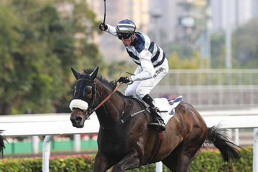 Harmony Hero scored a big victory with plenty of weight in Class 3 last time out and is expected to give another top performance in Race 10 at Sha Tin today, although he is stepping up in grade with an awkward draw.