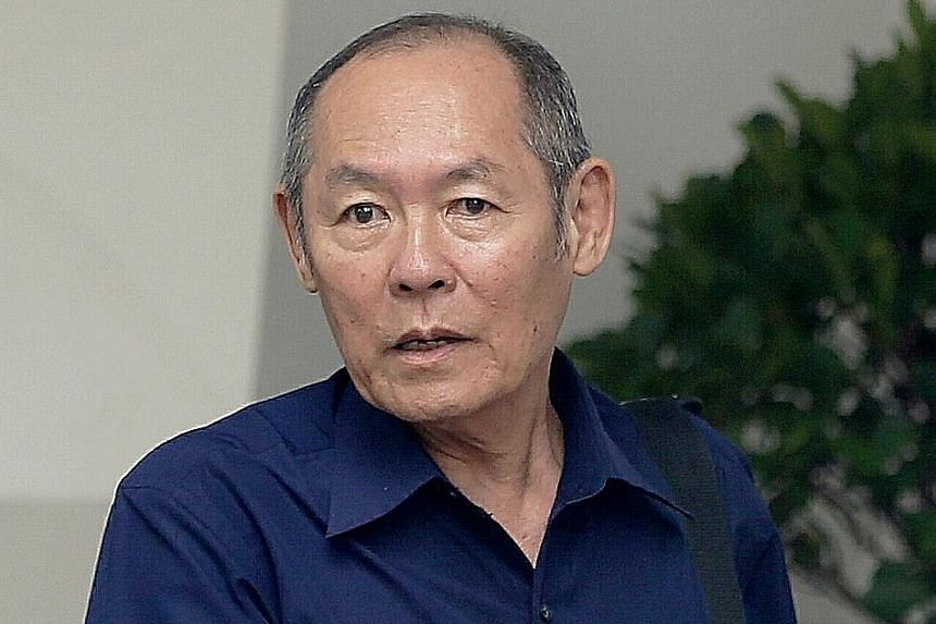 Gan Thean Soo, 71, turned violent when an American commuter in an MRT train rejected his proposition to have sex.