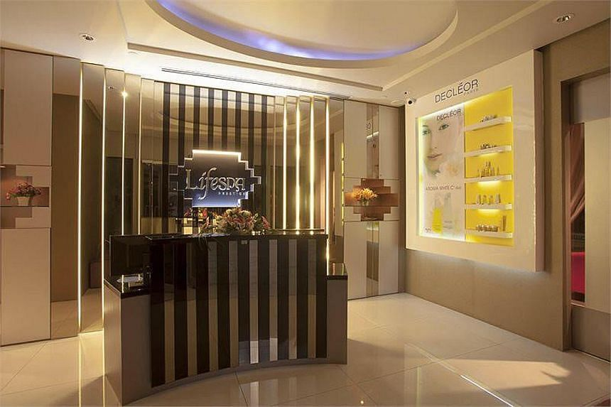 LifeSpa, located at Orchard Gateway @ Emerald and Carlton Hotel (left), offers a Wellness Booster Body Therapy session. The body massage and back detox mask treatment will leave customers feeling relaxed (above).