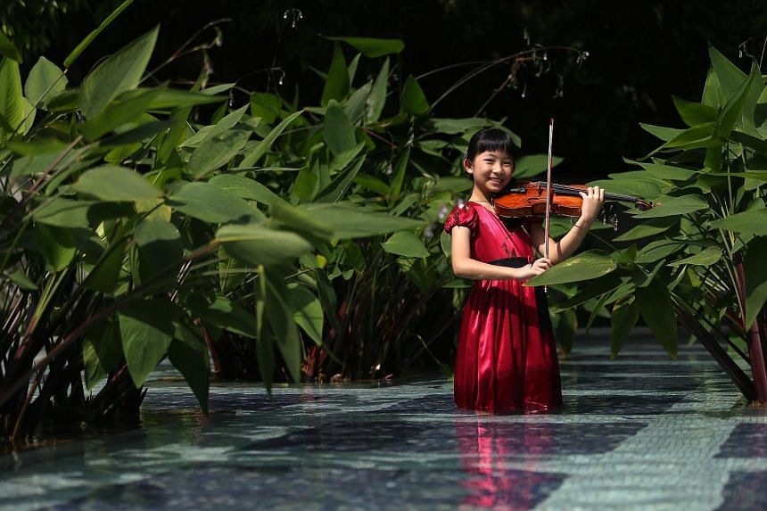 Singaporean violinist Chloe Chua has been playing the violin since she was four when she entered Nanyang Academy Of Fine Arts' School Of Young Talents Gifted Young Violinist Preparatory Course.