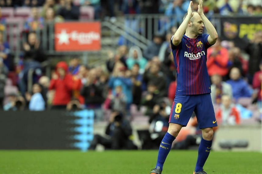 Andres Iniesta is set to announce his decision after Barcelona's King's Cup final against Sevilla on April 22, 2018.