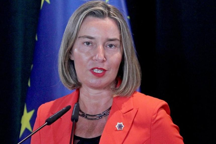 "European Union foreign policy chief Federica Mogherini calls the North Korean move ""a positive, long sought-after step""."