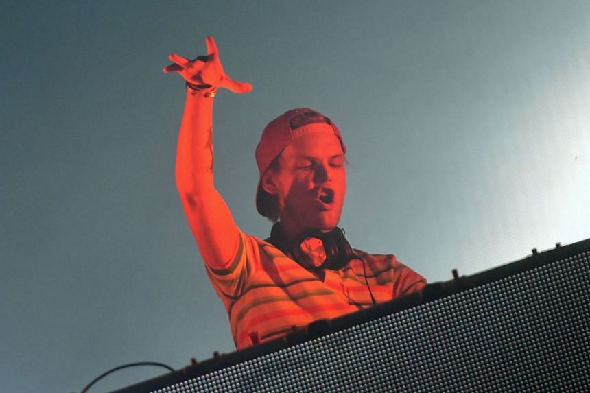 Tim Bergling, better known by his stage name Avicii, performing at the Sziget music festival in 2015.