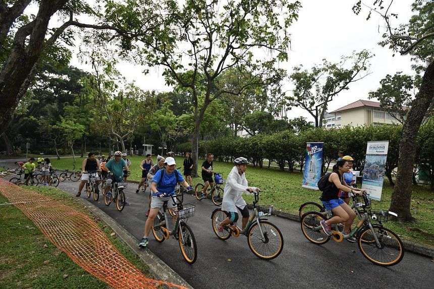 The Eat And Ride session is the first build-up activity for this year's The Straits Times Run.