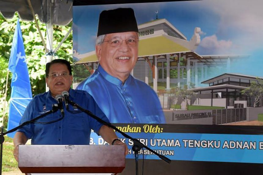 Umno secretary-general Tengku Adnan Tengku Mansor said the members' move violated a clause the party constitution.