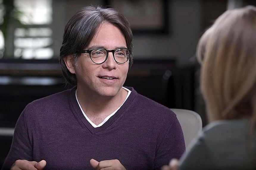 Keith Raniere (above), the leader of what the authorities allege is a sex cult, and actress Allison Mack, best known for her role in TV show Smallville, could face a minimum of 15 years' jail if convicted.