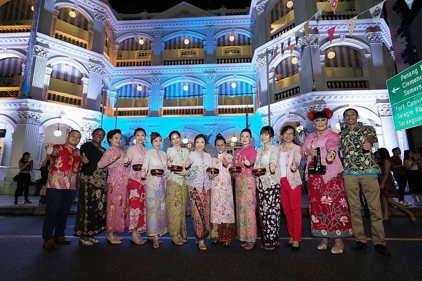 Armenian Street was closed on Friday and yesterday to celebrate the 10th birthday of the Peranakan Museum. It was also the closing weekend of the Singapore Heritage Festival, which started on April 6. The street was bustling with performances, games