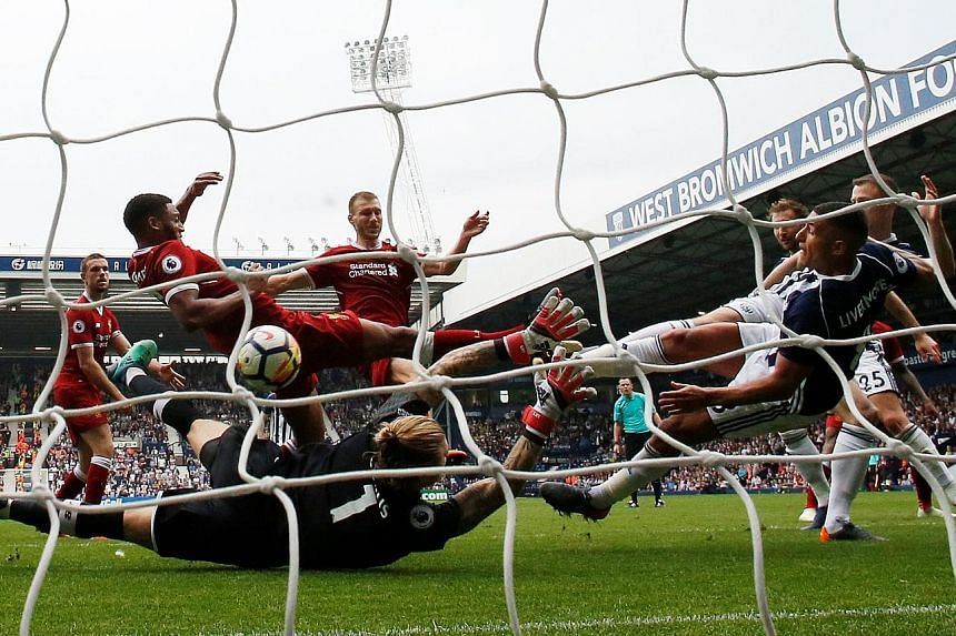 Jake Livermore scrambling home West Bromwich's first goal from a corner after 79 minutes. The hosts got an 88th-minute equaliser after another set piece when Chris Brunt's free kick was headed home by Salomon Rondon.