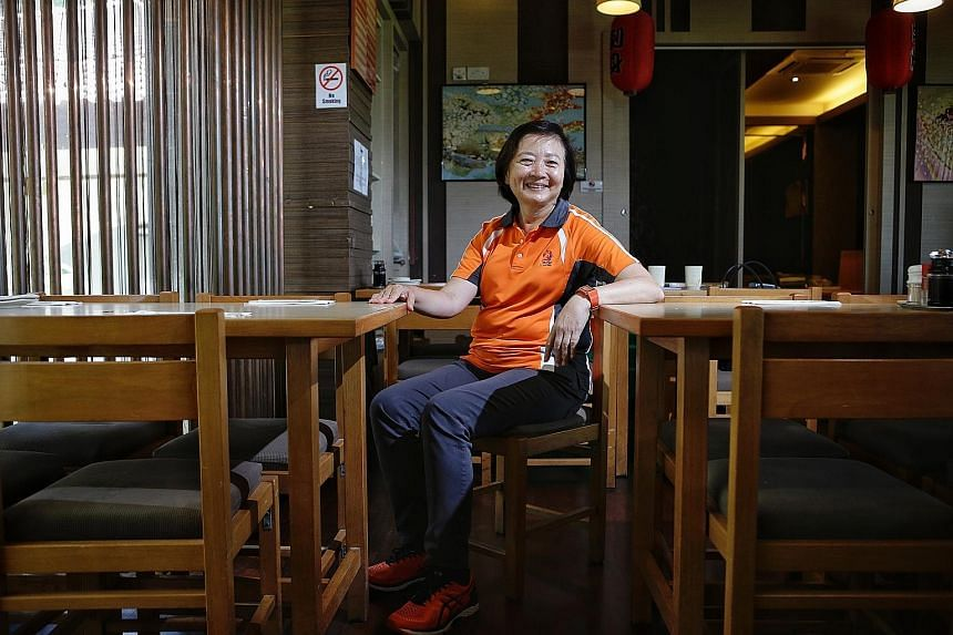 Ms Lee Bee Wah when she got married at 27. The only time she has ever worn full-blown make-up was on her wedding day. Ms Lee Bee Wah is into her 12th year as a Member of Parliament. It is a role that she relishes and she says she spends an average of