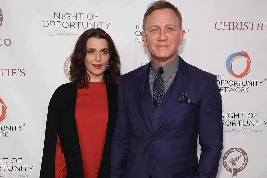 London-born Rachel Weisz wed James Bond star Daniel Craig, 50, in June 2011 in an intimate ceremony in New York attended by just four guests.