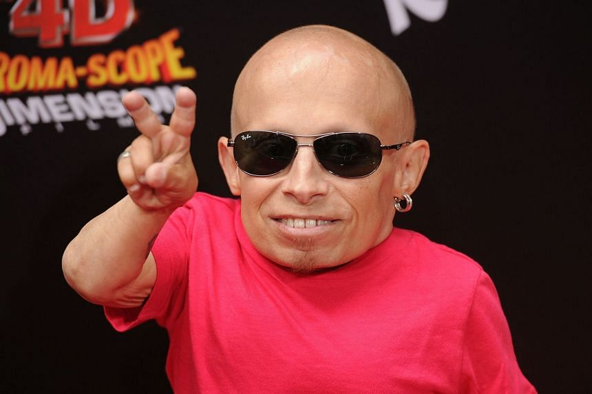 Troyer (above, in 2011), was best known for his role as Mini-Me in the Austin Powers movies.