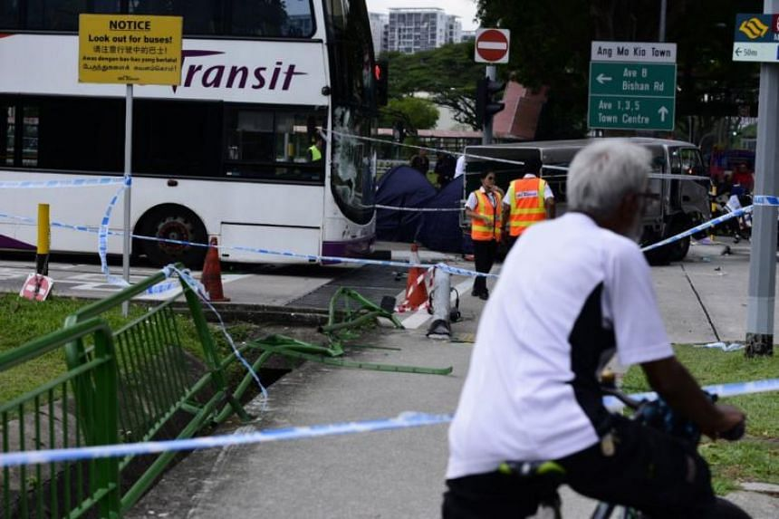 The 25-year-old male lorry driver, who suffered injuries in the accident, has been arrested for dangerous driving causing death.