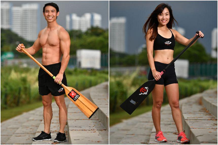 Bernard Toh, 27, and Amanda Ng, 26.