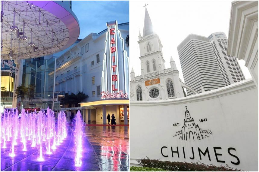 The annual fair, which is organised by Singapore Press Holdings Chinese Media Group, will be held in Capitol Piazza (left) and Chijmes.