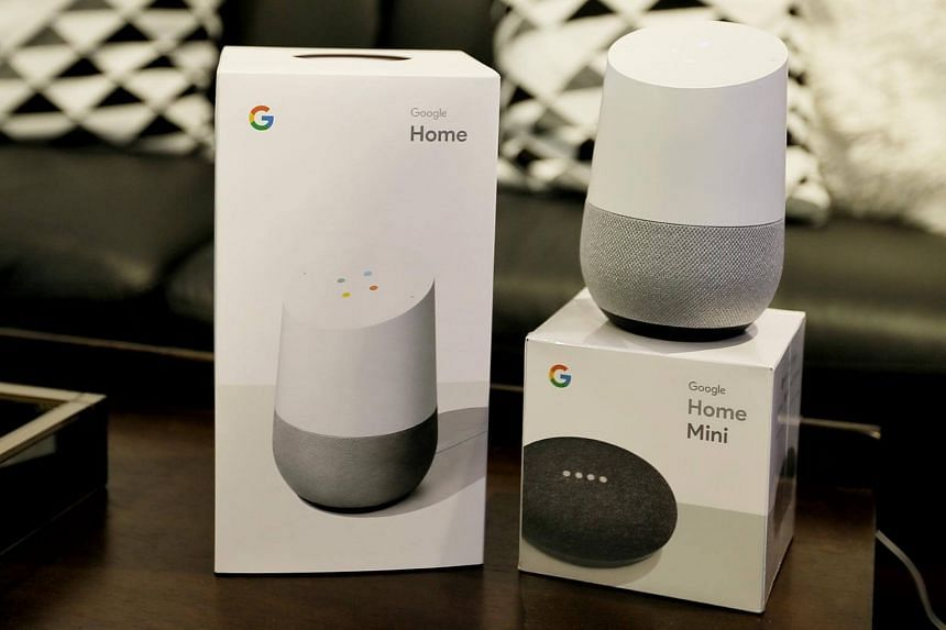 The Google Home and Google Home Mini act as voice-activated personal assistants, carrying out tasks such as playing music from Spotify, shows from Netflix or news from The Straits Times on voice commands.