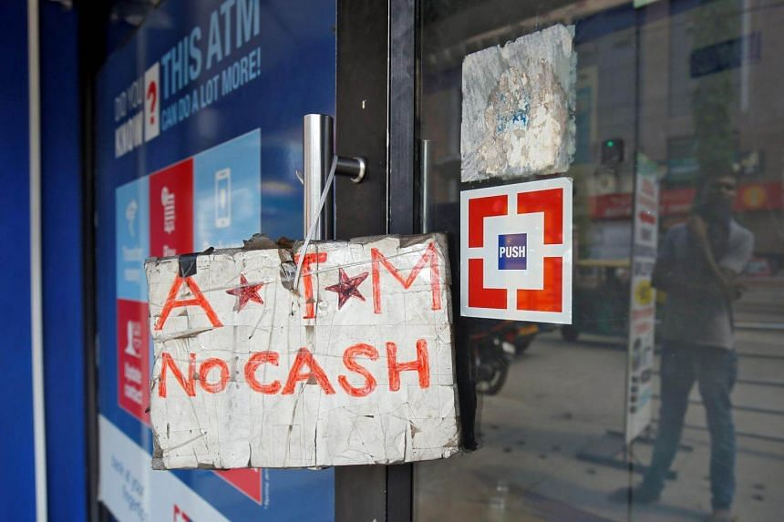 ATMs in some parts of India have been reported to be running dry in recent days.