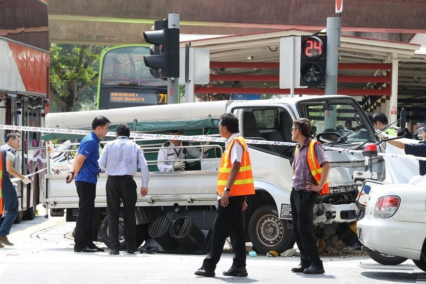 The 25-year-old male lorry driver has been arrested for causing death by a negligent act.