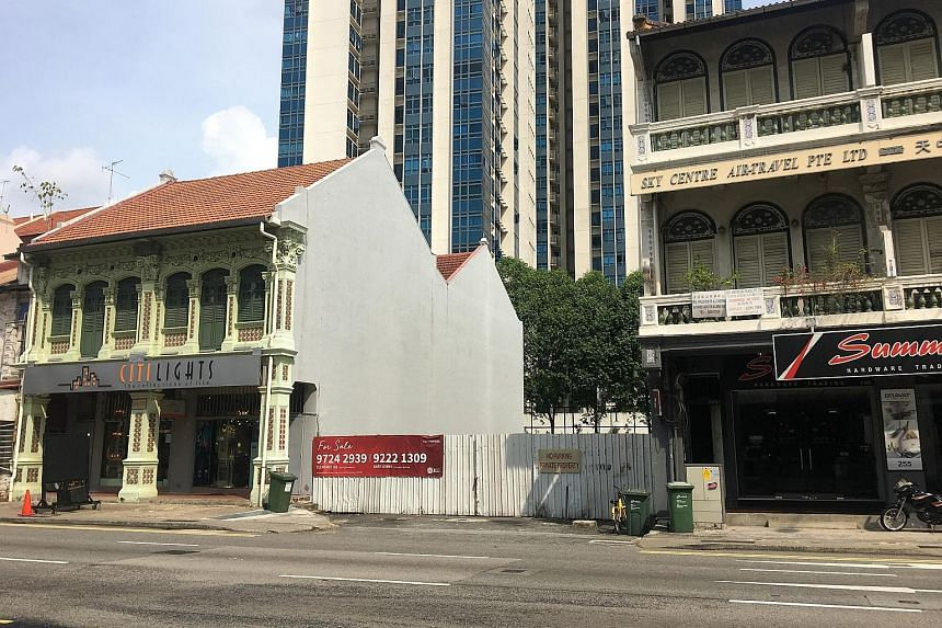 The freehold commercial site at the former New World Amusement Park in Jalan Besar Road is being sold at an indicative guide price of about $13.5 million.