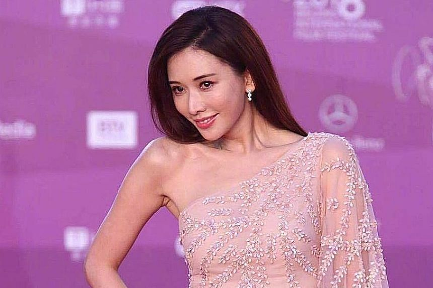 Chiling Lin (above) and Shu Qi (left) were among the stars at the closing ceremony of the Beijing International Film Festival on Sunday. Shu was doing double duty, as a member of the jury headed by director Wong Kar Wai and a star of the new movie, T