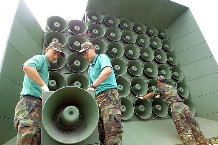 For the first time in over two years, South Korea has stopped propaganda broadcasts directed at the North. Such broadcasts include a mixture of news, South Korean pop music and criticism of the North Korean regime.
