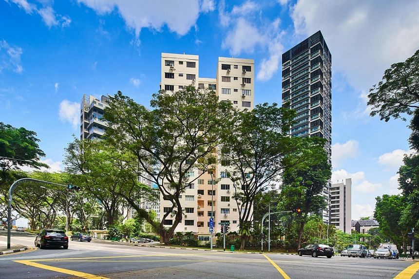 Park House in Orchard is up for sale by tender with a guide price of $308 million. Owners at the 56 apartments will get at least $5 million each, while owners of four shops in the project will get no less than $6.65 million each.