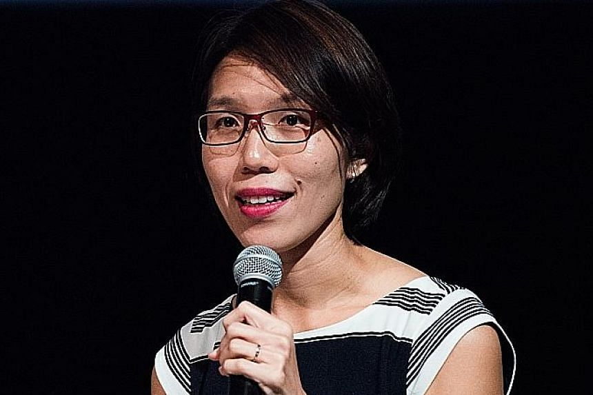 Ms Loh Woon Yen is chairman of the fair's organising committee.