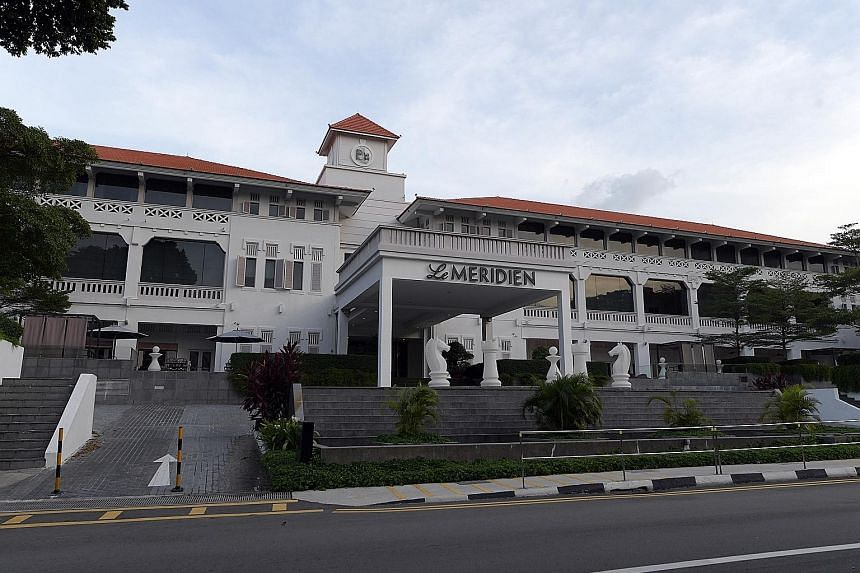 Le Meridien, formerly known as Movenpick Heritage Hotel Sentosa, came under receivership of PwC Singapore after Sanchoon Builders won a High Court order last month to wind up Treasure Resort, which owned the hotel. Treasure had allegedly defaulted on