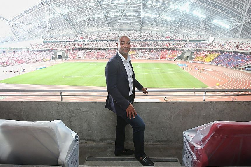 Australian rugby legend George Gregan (left), who played the conventional 15-a-side game, and Fiji's former sevens sensation Waisele Serevi both see an open contest in the HSBC Singapore Rugby Sevens this weekend at the National Stadium.