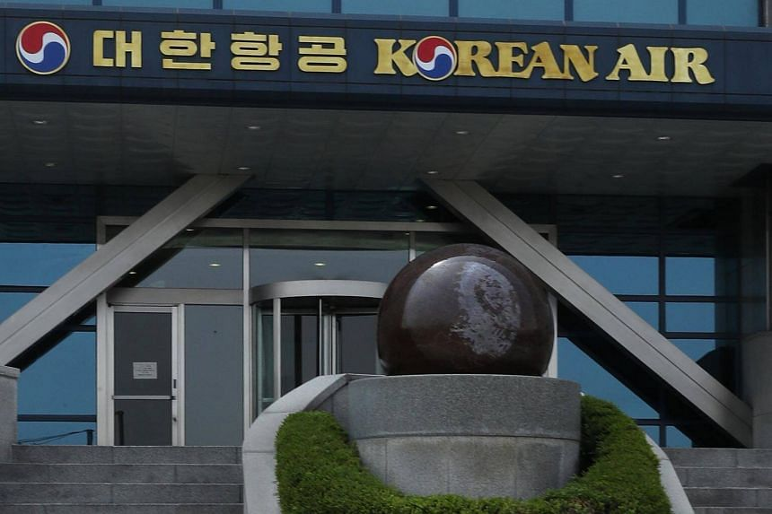 Korean Air's headquarters in Seoul. The airline is being investigated by South Korea's antitrust watchdog over alleged unfair business practices.
