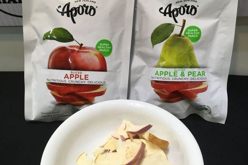 Aporo's products are made using New Zealand grown apples, including heritage breeds such as Braeburn and Royal Gala.