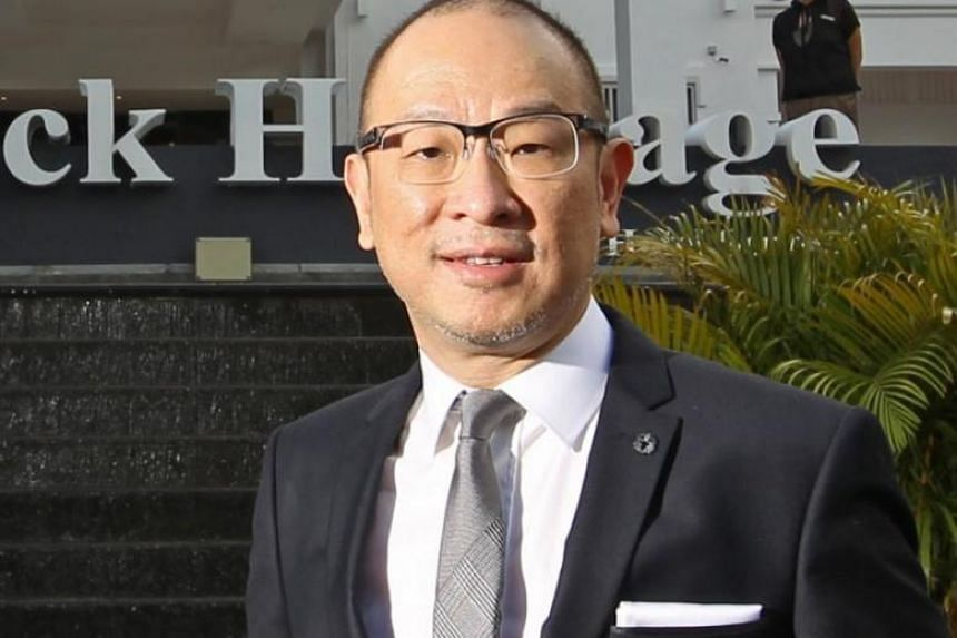 Mr Rodney Tan (above) was sued by Mr Tan Eck Hong, a minority shareholder in Treasure Resort over his alleged mismanagement of the firm.